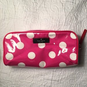 Kate Spade Polka Dot Makeup Bag